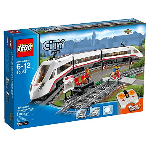 LEGO City High-speed Passenger Train 60051 Train Toy