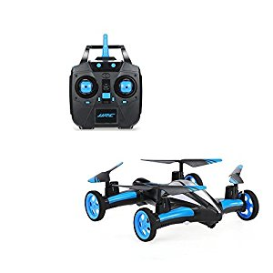 GordVE Flying Cars Quadcopter Car Remote Control Car and RC Quadcopter Remote Control Drone Flying Vehicles-Blue