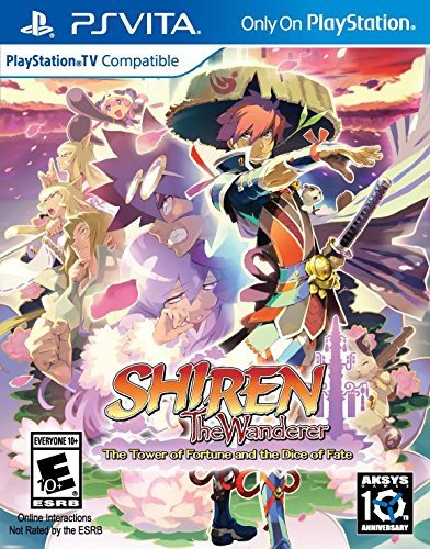 Shiren The Wanderer: The Tower of Fortune and the Dice of Fate – PlayStation Vita