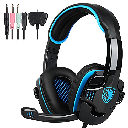 Sades SA708 GT PS4 Gaming Headset Headphone with Microphone