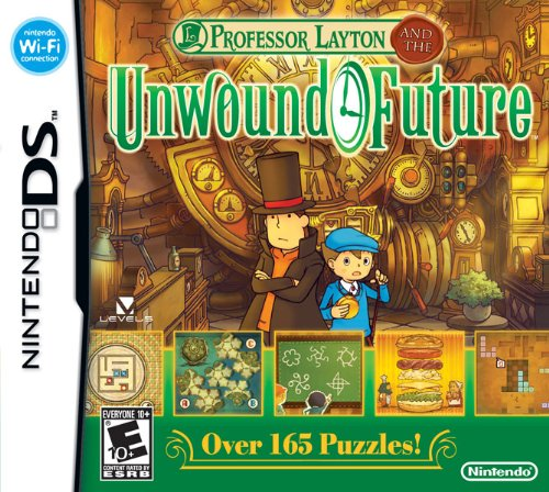 Professor Layton and the Unwound Future – Nintendo DS