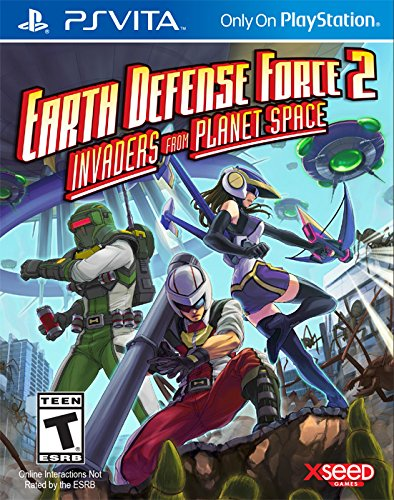 Earth Defense Force 2: Invaders from Planet Space – PlayStation Vita