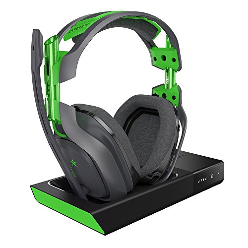 ASTRO Gaming A50 Wireless Dolby Gaming Headset – Black/Green – Xbox One + PC