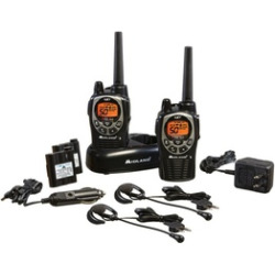 Midland GXT1000VP4 36-Mile 50-Channel FRS/GMRS Two-Way Radio (Pair)