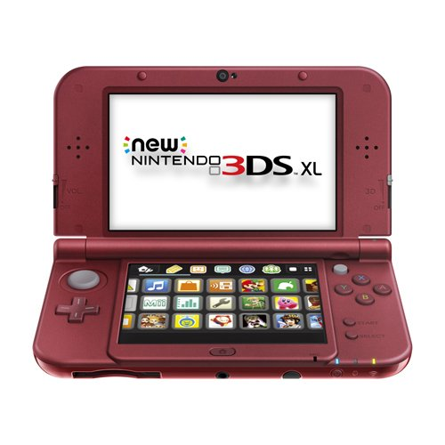 Nintendo New 3DS Xl – Red [Discontinued]
