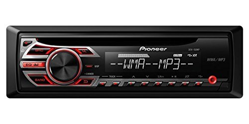 Pioneer DEH-150MP Single DIN Car Stereo With MP3 Playback