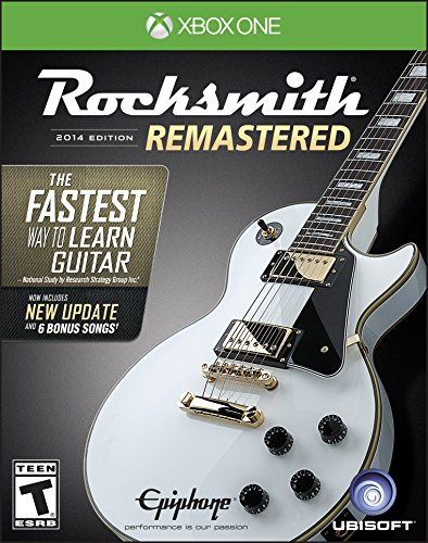 Rocksmith 2014 Edition Remastered – Xbox One Standard Edition