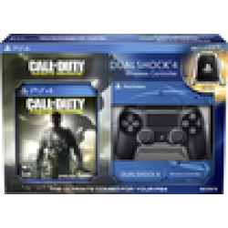 sony dualshock 4 wireless controller and call of duty infinite warfare 2 -