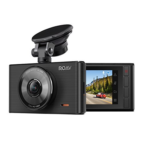 roav by anker dash cam c2 fhd 1080p 3 lcd 4 lane wide angle view lens -