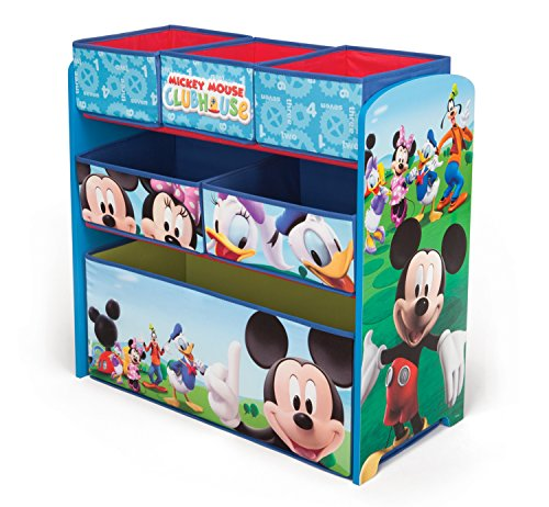 delta children mickey mouse clubhouse multi bin -
