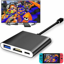 fyoung usb type c to hdmi adapter for nintendo switch hdmi converter cable -