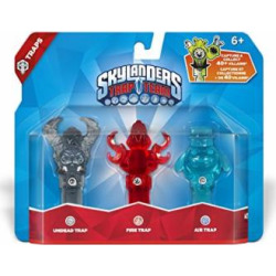 skylanders trap team air undead fire trap triple trap pack 1 -