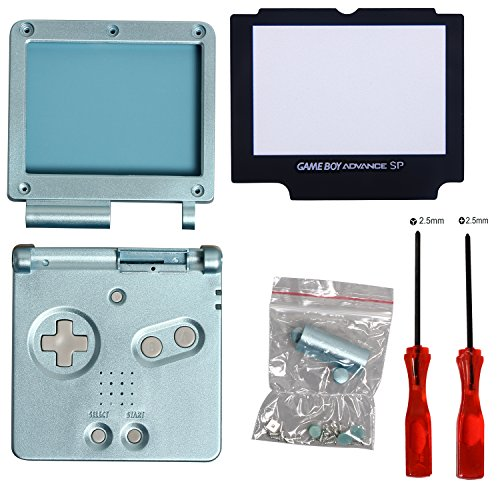 timorn full parts housing shell pack replacement for nintendo gba sp gameboy -