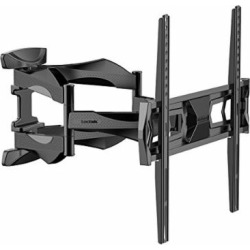 articulating arm 32 55 inch tv lcd monitor wall mount full motion tilt -