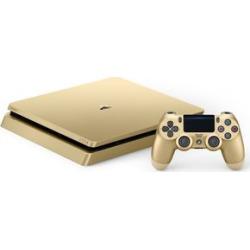 sony playstation 4 slim 1tb console gold -