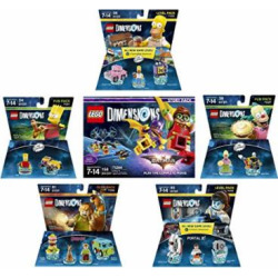 lego batman movie story pack the simpsons homer level pack bart simpson  -