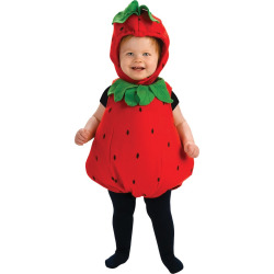Girls' Berry Cute Infant Costume 6-12, Size: 6-12 M, Multicolored
