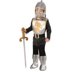 Boys' Brave Knight Toddler Costume 1-2t, Size: 12-24 Months, Multi-Colored