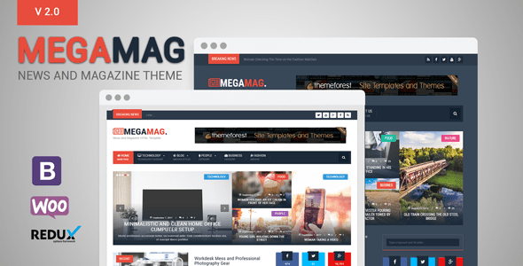 MegaMag – News and Magazine WordPress Theme