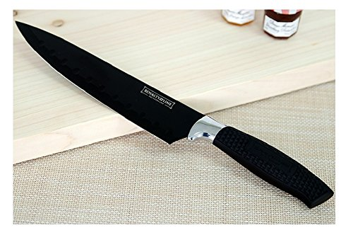 Layalty Line K-1 Color Series Chef Knife Black 8″