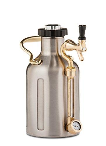 uKeg 64 Pressurized Growler for Craft Beer – Stainless Steel