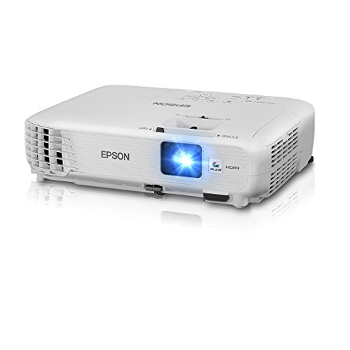 Epson Home Cinema 740HD 720p, HDMI, 3LCD, 3000 Lumens Color and White Brightness Home Theater Projector (Certified Refurbished)