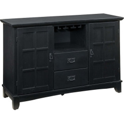 Arts and Crafts Dining Buffet Wood/Black – Home Styles