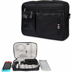 Nintendo Switch NS Case Cubevit BUBM Nintendo Switch Game Console Case Protective Travel Carrying Case for Nintendo Switch Console and Accessories with Card Holder at Home Storage Outdoor