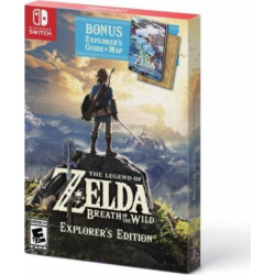 the legend of zelda breath of the wild explorers edition nintendo switch -