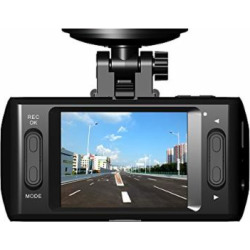 """Dash Cam Car Camera with Full HD 1080P, 140° Wide Angle Lens, 2.4"""" LCD and Night Vision Loop Recording"""