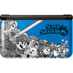 Used Nintendo 3Ds Xl System – Super Smash Bros Blue