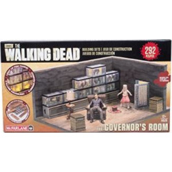 McFarlane Toys Building Sets -The Walking Dead TV The Governor's Room Building Set Assortment