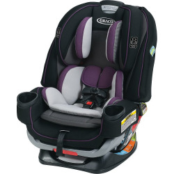 Graco 4Ever Extend2Fit All in One Convertible Car Seat, Purple