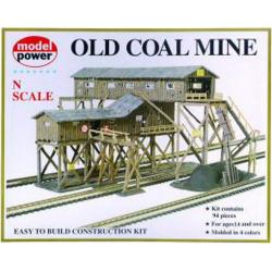 Model Power 1552 N Coal Mine Plastic Building Kit