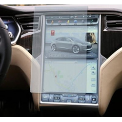 Topfit Tempered Glass Touch Screen Protector for Tesla Model S and Model X