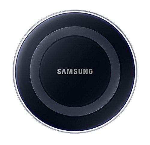 Samsung EP-PG920IBUGUS Wireless Qi Charging Pad with 2A Wall Charger – Black Sapphire (Certified Refurbished)
