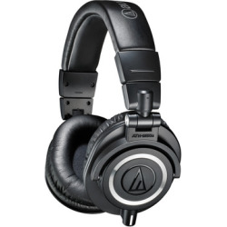 Audio-Technica ATH-M50x Professional Monitor Headphones – Black – Audio-Technica – ATH-M50X 4961310125431