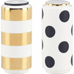 kate spade new york fairmount park dot stripe salt pepper shaker set usa -