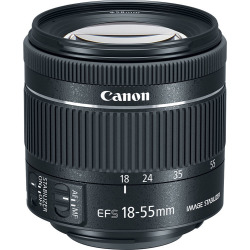 Canon EF-S 18-55mm f4-5.6 IS STM Lenses (White Box)