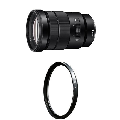 Sony SELP18105G E PZ 18-105mm F4 G OSS with Clear UV Haze