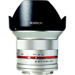 Rokinon 12mm F/2.0 NCS CS Ultra Wide Angle Lens Sony E-Mount (NEX) (RK12M-E) Silver