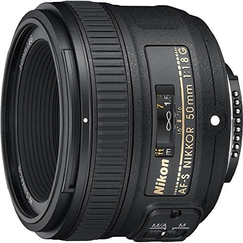Nikon 50mm f/1.8G Auto Focus-S NIKKOR FX Lens – (Certified Refurbished)