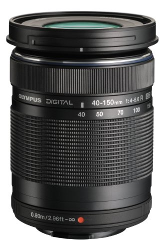Olympus M. 40-150mm F4.0-5.6 R Zoom Lens (Black) for Olympus Micro 4/3 Cameras
