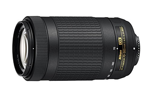 Nikon 70-300mm f/4.5-6.3G DX AF-P ED Zoom-Nikkor Lens – (Certified Refurbished)