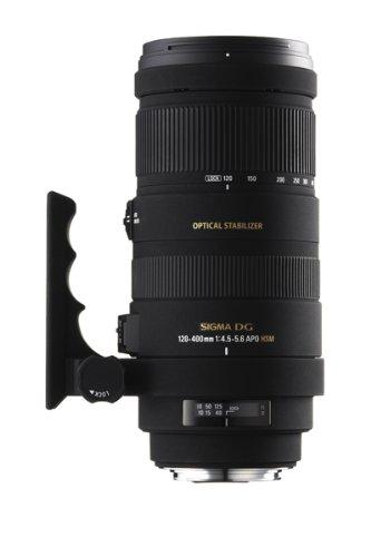 Sigma 120-400mm f/4.5-5.6 AF APO DG OS HSM Telephoto Zoom Lens for Canon Digital SLR Cameras