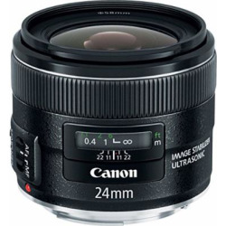 Canon EF 24mm f/2.8 IS USM Wide Angle Lens – Fixed