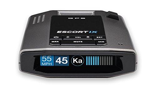 Escort iX Long Range Radar Laser Detector, Black