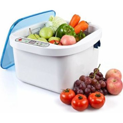 Nski 12.8L Home Use Ultrasonic Ozone Vegetable Fruit Sterilizer Cleaner Washer Health