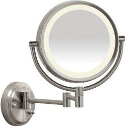 Conair Wall Led Mirror 1X/10X, Silver