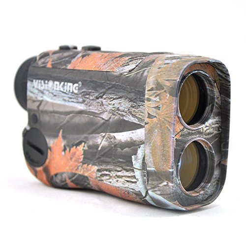 Visionking Range Finder 6×25 Laser Rangefinder for Hunting Rain Golf Model 600m (Camo)